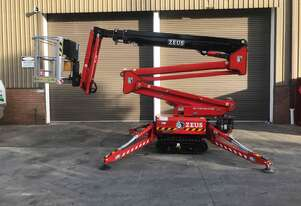 Used 2014 Zeus 18.93 Spider Lift with Trailer