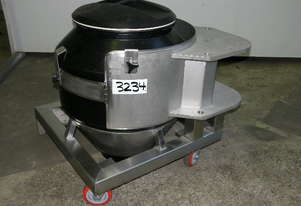 Powder Hopper Plastic Capacity 200Lt.