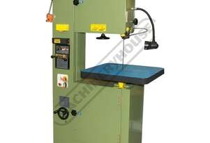 VB-450 Metal Cutting Vertical Band Saw Includes Bade Welding Station & Work Light 455 x 255mm (W x H