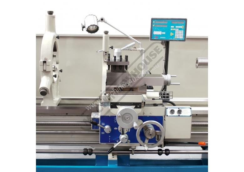 TM-2680G Centre Lathe 660 x 2000mm Turning Capacity - 120mm Spindle Bore Includes Digital Readout