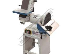 L-612 Belt & Disc Linisher Sander 150 x 1220mm (W x L) Belt Ø305mm Disc - picture0' - Click to enlarge
