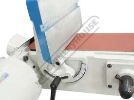 L-612 Belt & Disc Linisher Sander 150 x 1220mm (W x L) Belt Ø305mm Disc - picture4' - Click to enlarge