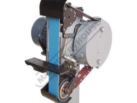RM-48 Radius Master Pedestal Belt Grinder / Linisher - Series 2 50 x 1220mm Belt Size 7 Work Station - picture0' - Click to enlarge