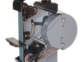 RM-48 Radius Master Pedestal Belt Grinder / Linisher - Series 2 50 x 1220mm Belt Size 7 Work Station - picture2' - Click to enlarge