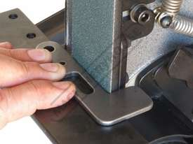 RM-48 Radius Master Pedestal Belt Grinder / Linisher - Series 2 50 x 1220mm Belt Size 7 Work Station - picture11' - Click to enlarge