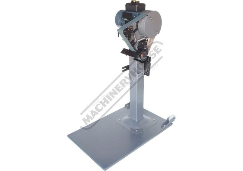 RM-48 Radius Master Pedestal Belt Grinder / Linisher - Series 2 50 x 1220mm Belt Size 7 Work Station