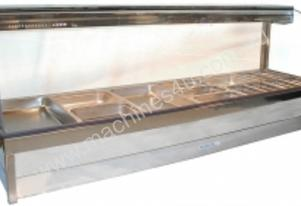 Hot Foodbar - Roband C26 Curved Glass Double Row