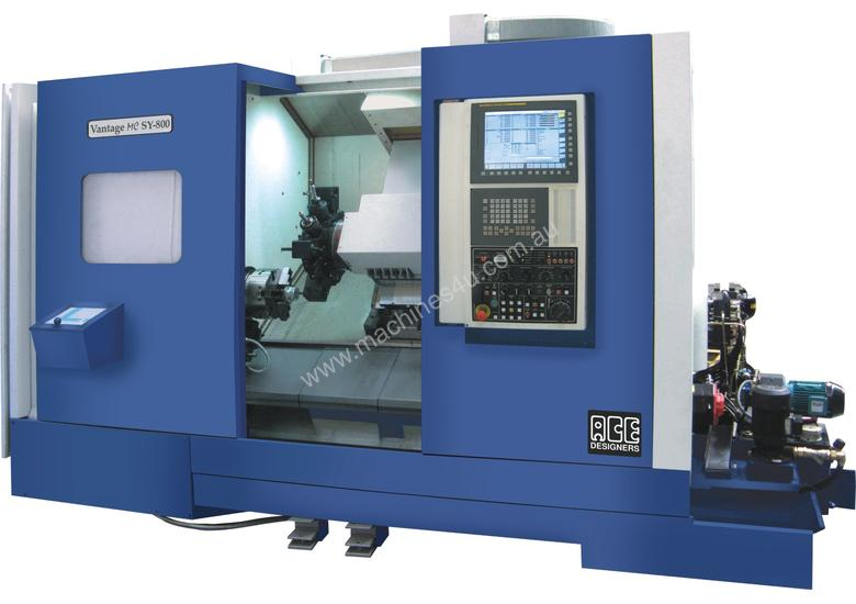 ACE Micromatic Vantage Turn Mill Centre with Y axi