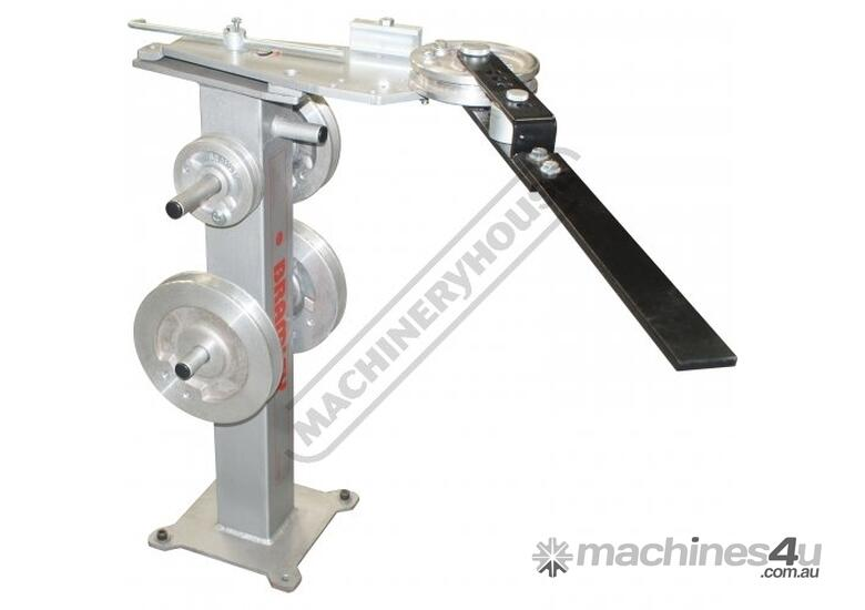 TBSQ Manual Tube Bender - Square  12.7 - 25.4mm Square Tube Capacity,<BR>12.7 - 28.57mm OD Round Tub