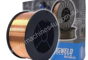 Weldskill Solid Mig Wire 0.6mm 5KG