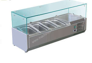 BAIN MARIE, 4 X 1/3 GN TRAYS INCLUDED VRX-1200T