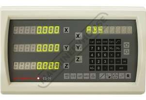 ES14-3x 3-Axis Digital Readout Counter - 1µm or 5µm  Suits Lathes & Mills