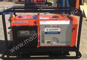 9 KVA Kubota GL9000 Lowboy Full Mine Spec - Japan