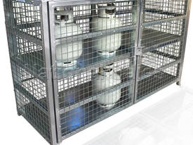9Kg LPG Gas Storage Cage for 24 Cylinders