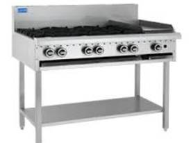 Luus Model BCH6B3P-6 Burners 300 Grill and Shelf