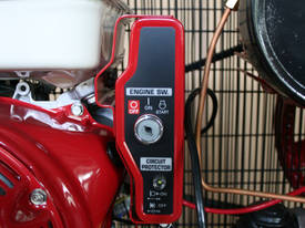 BOSS 42CFM/ 13HP HONDA Petrol Compressor (E/Start) - picture4' - Click to enlarge