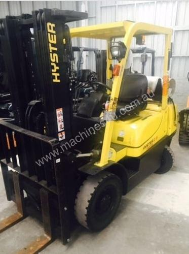 Used LPG Hyster 2.50TX forklift