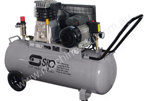 SIP 3HP 100L Belt Drive 8 Bar Air Compressor