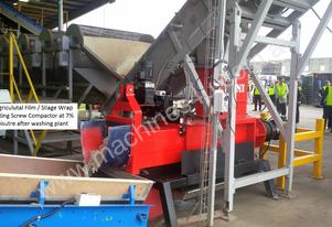 SK-370 Screw Compactor for Drying Film