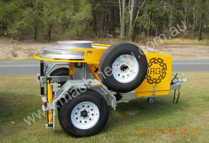5kN FIBRE OPTIC CAPSTAN WINCH TRAILER