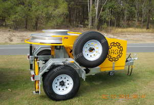 REDMOND GARY - 5kN FIBRE OPTIC CAPSTAN WINCH TRAILER