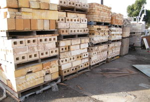 kiln  blocks fire bricks