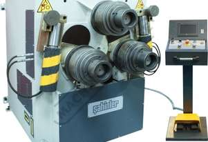 HPK-100NC Section & Pipe Rolling Machine 100 x 100 x 12mm Angle Capacity Includes 3-Axis 7.7