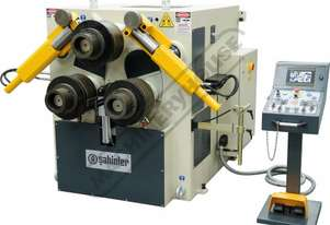 HPK-100NC Hydraulic Section & Pipe Rolling Machine 100 x 100 x 12mm Angle Capacity Includes 3-Axis 7