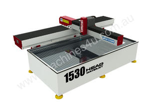 3-axis water jet cutting machine - cantilever