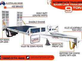 Heavy Duty 9 TON Baseline Tag Trailer - picture2' - Click to enlarge