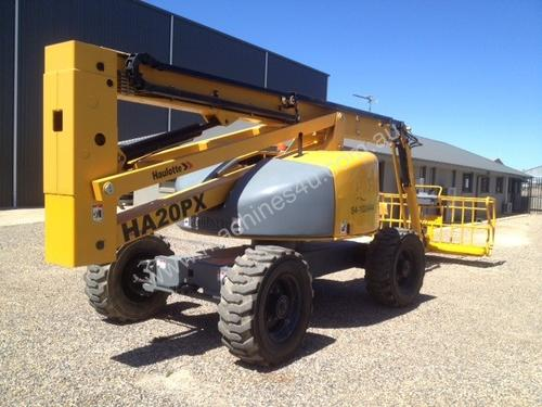 Haulotte HA20 PX Boom Lift Access & Height Saf