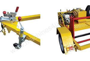 1 TONNE SELF LOADING CABLE DRUM TRAILER