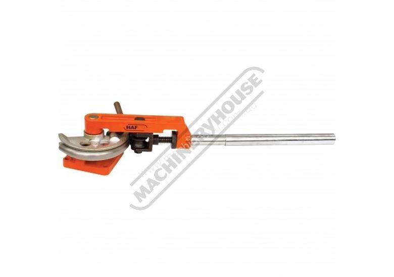 TBRS-25 Manual Tube Bender - Round & Square Ø9.52 - Ø22.22mm Round Tube Capacity, 19.05 & 25.4mm S