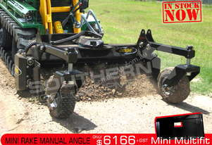1220mm Mini Power Rake Manual Angle Suit Kanga ATTRAK