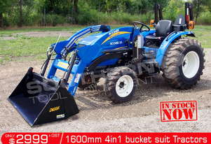 1600mm 4 in 1 Bucket suit Tractor Front End Loader ATT4IN1