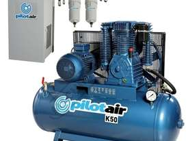 K50 Industrial Air Compressor & Refrigerated Air Dryer Package Deal 268 Litre / 10hp 39.6cfm /1120lp - picture0' - Click to enlarge