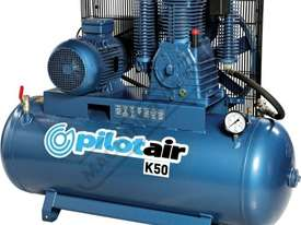 K50 Industrial Air Compressor & Refrigerated Air Dryer Package Deal 268 Litre / 10hp 39.6cfm /1120lp - picture2' - Click to enlarge