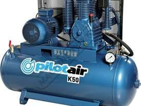 K50 Industrial Pilot Air Compressor & Refrigerated Air Dryer Package Deal 268 Litre / 10hp 39.6cfm / - picture2' - Click to enlarge