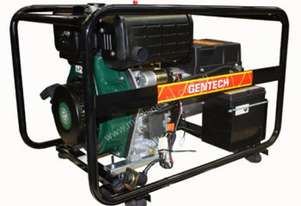 Gentech 6.8kVA Diesel Generator with Electric Start
