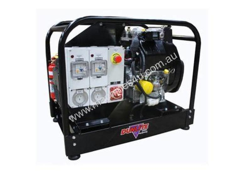 Dunlite 6.8kVA Mine Spec Generator, Yanmar Engine