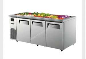 AONEMASTER TURBO AIR KSR18-3 SALAD SIDE PREP BUFFET TABLE
