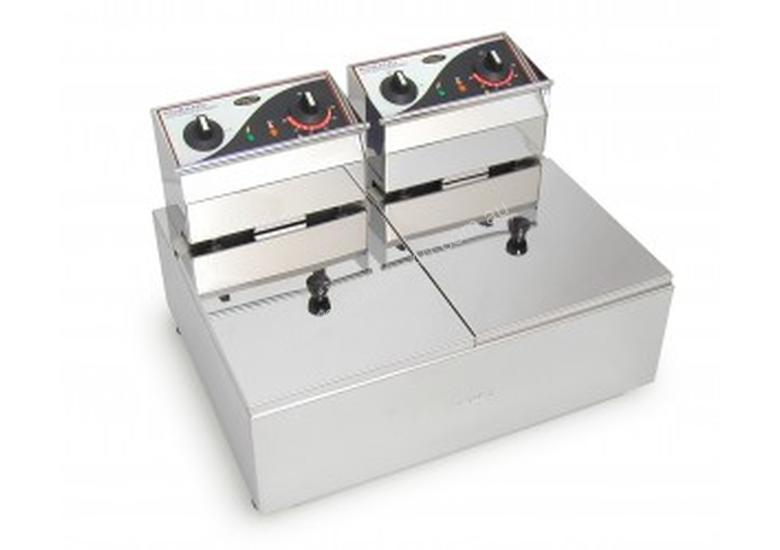 ROBAND - F28- Double Pan Fryers 8.L