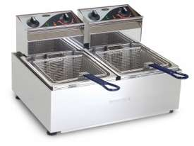 ROBAND - F28- Double Pan Fryers 8.L - picture1' - Click to enlarge