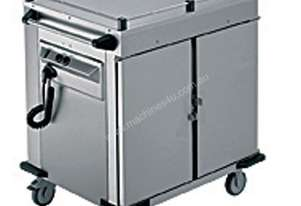 Rieber NORM-II-0 - 2 x Heated Cabinets Mobile Food Transport Trolley