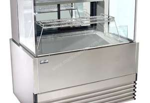 Koldtech KT.SQRCD.20.SF Square Glass Seafood Display - 2000mm