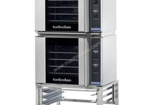 Turbofan E31D4/2 - Half Size Tray Digital Electric Convection Ovens Double Stacked