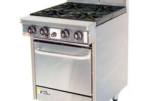 Goldstein 4 Burner Gas Top With Static Electric Oven