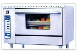 Goldstein Gas Convection Oven with Manual Control