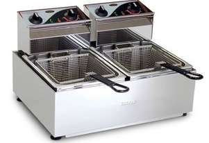 Roband F28 8lt Bench Top Twin Pan Fryer