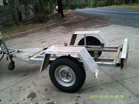 HD single axle galvenised  trailer , for gensets etc , - picture1' - Click to enlarge